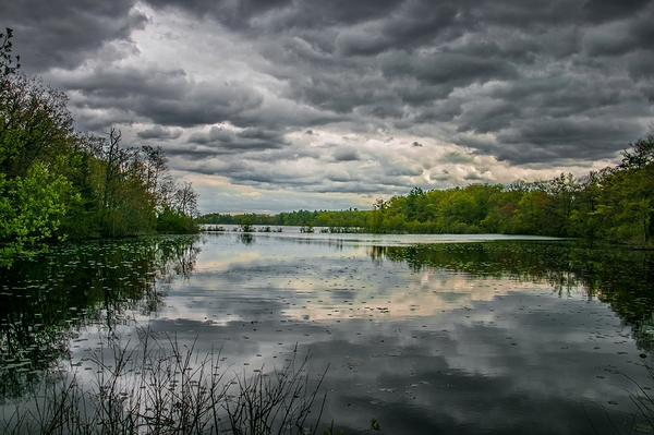 Approaching Storm. New Hampshire.