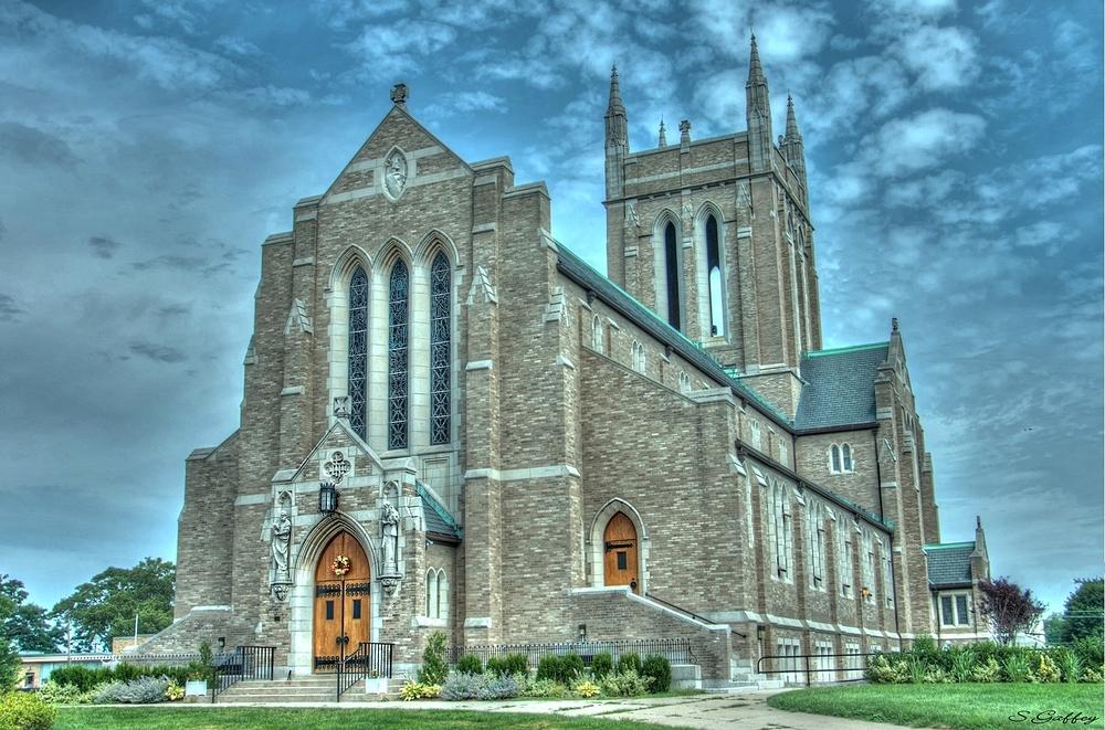 Church. Brockton Massachusetts.