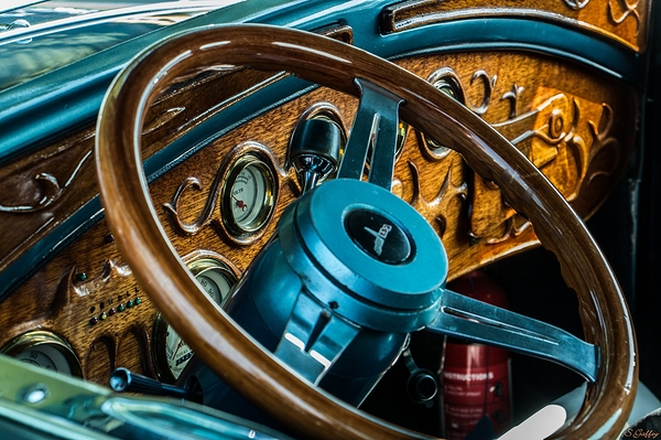 Dashboard 1931 Ford Coupe
