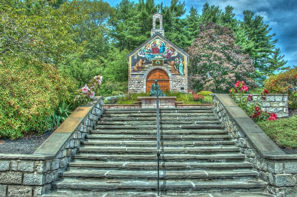 Cardinal Cushing Church. Hanover, Massachusetts.