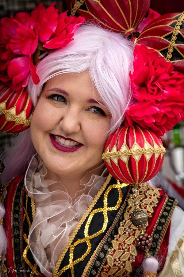 Girl in Custom Fair Photo