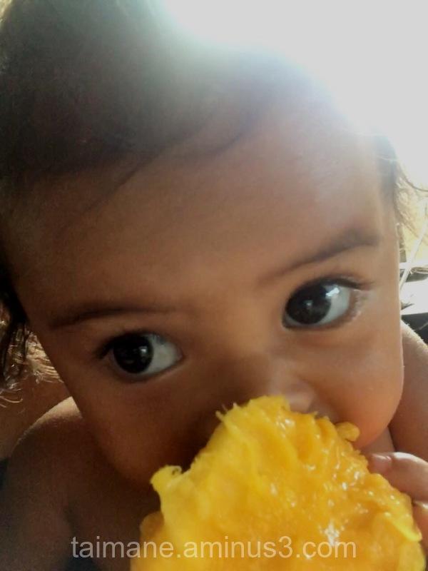 Yummy mango!