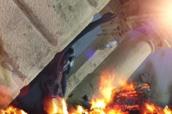 La poitrine en feu...