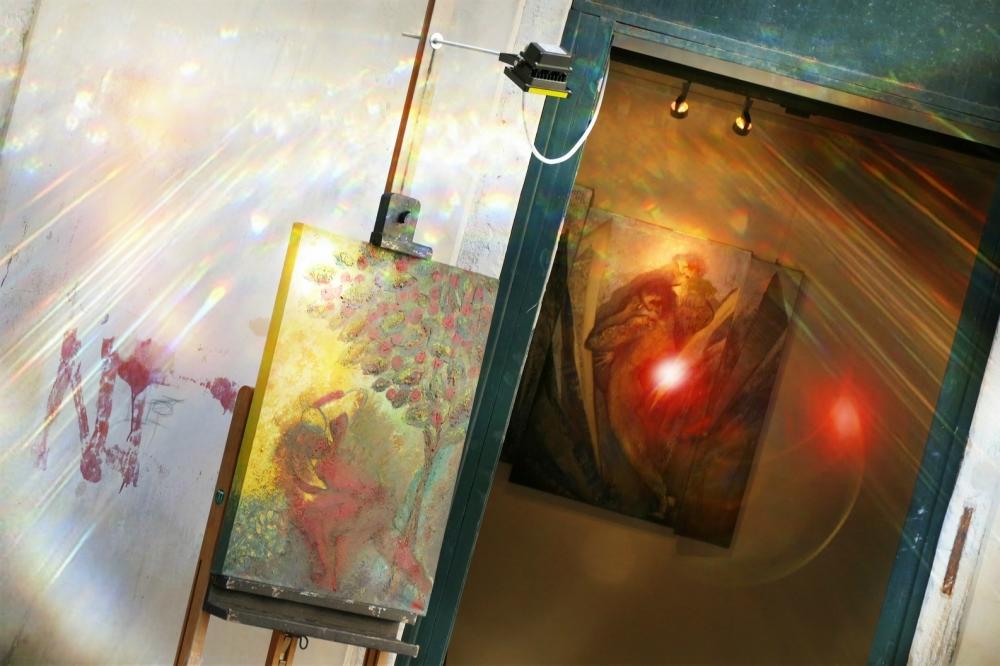 La lumière me pousse à aller vers l'abstrait...