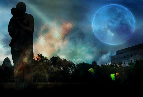 C'est à la pleine lune qu'on cherche des croyances