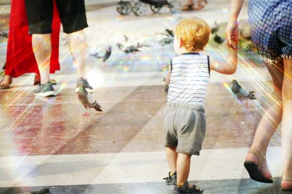 Un enfant est la lumière pour tous...