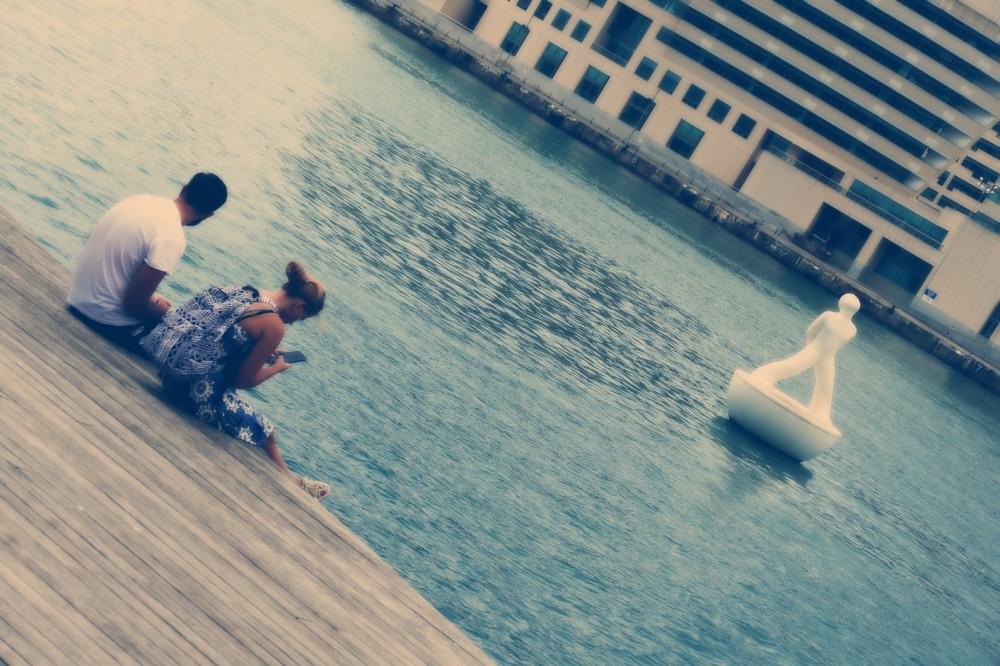 être au bord de l'eau est une source de repos...