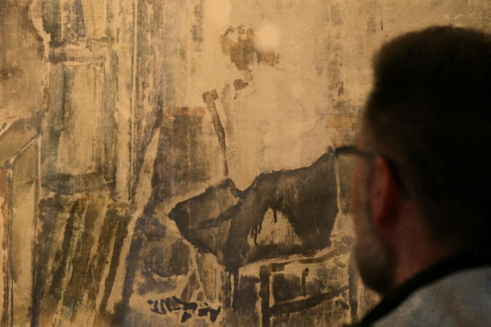 Se fondre de passion dans la peinture...