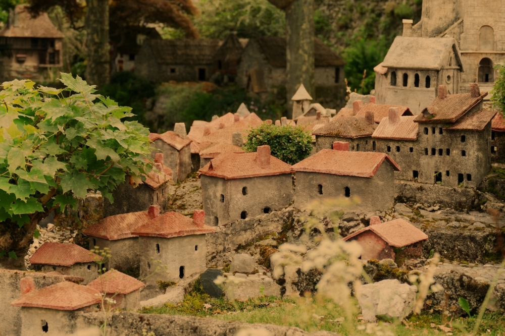 Un village minimaliser...