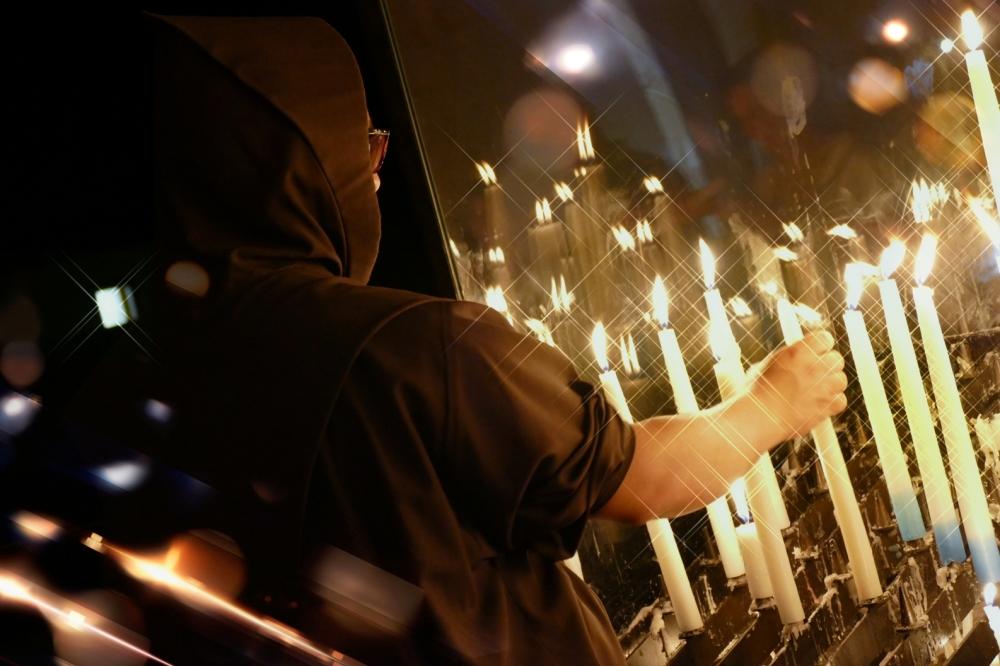 Prendre notre flamme nous rend brillant...