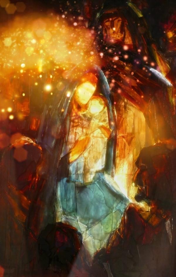 La naissance de sa lumière...