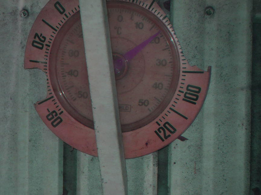 Red Hot Thermometer