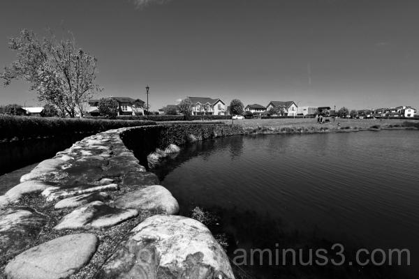 Black & White Lake