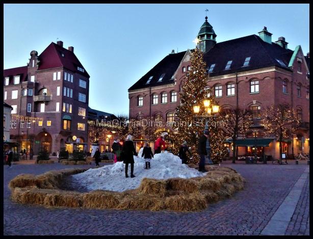 Snow Oasis in Lund - Sweden