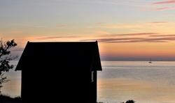 A Small House Near the Sea