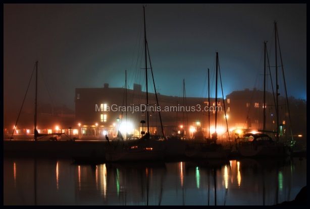 Borgholm by Night