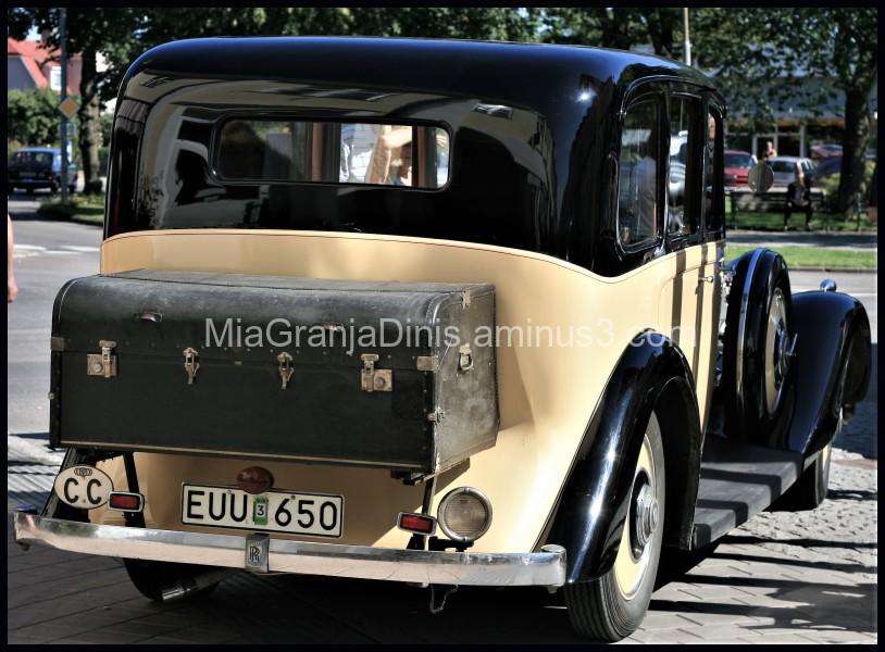 British Car Meeting On Öland - Sweden