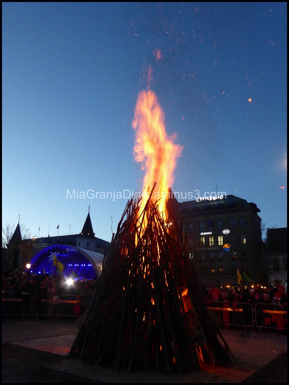 Fire Celebration in Malmö