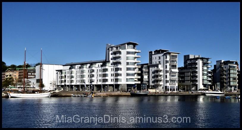 Living near the sea in Helsingborg