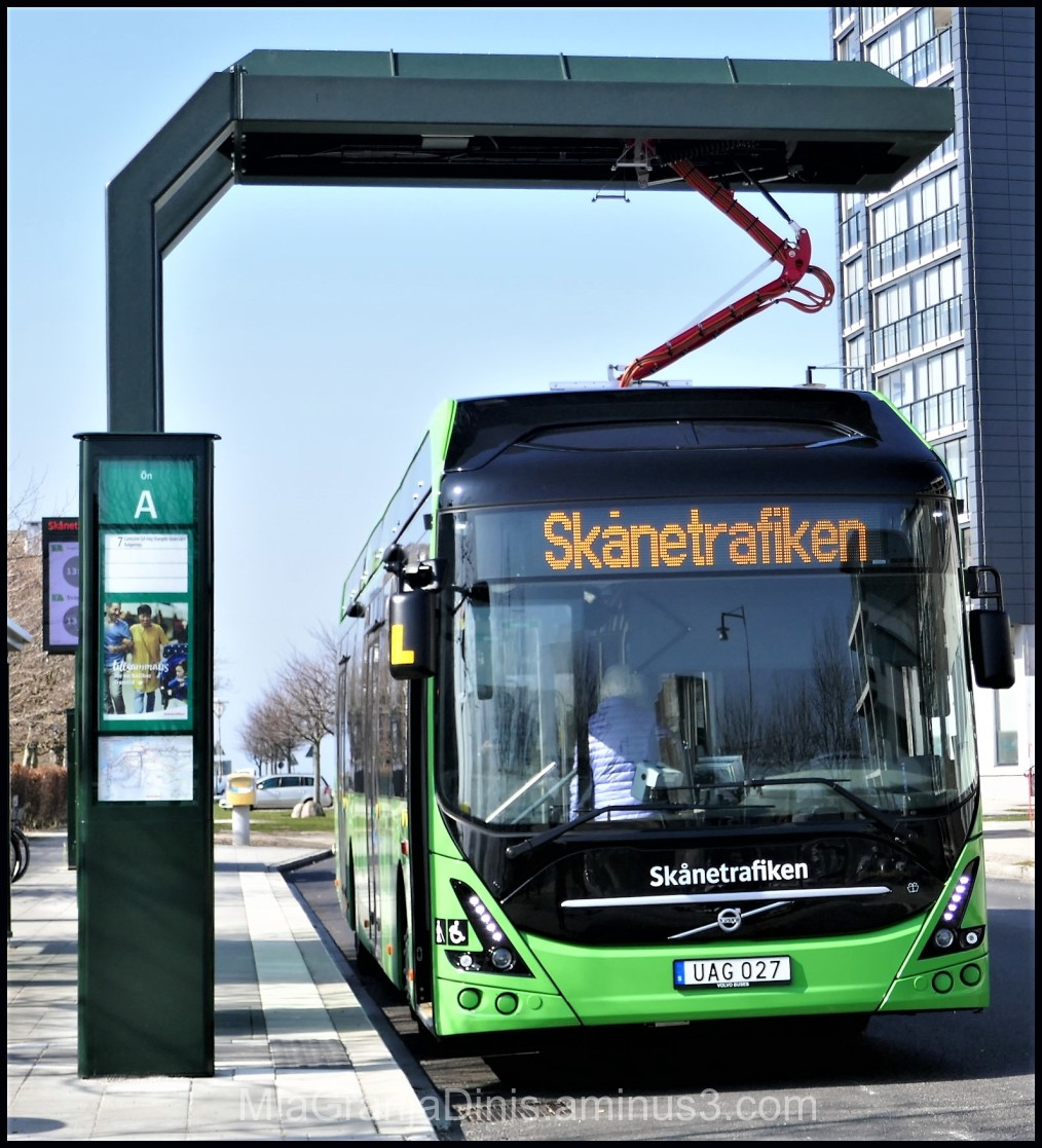 Electric Bus in Malmö