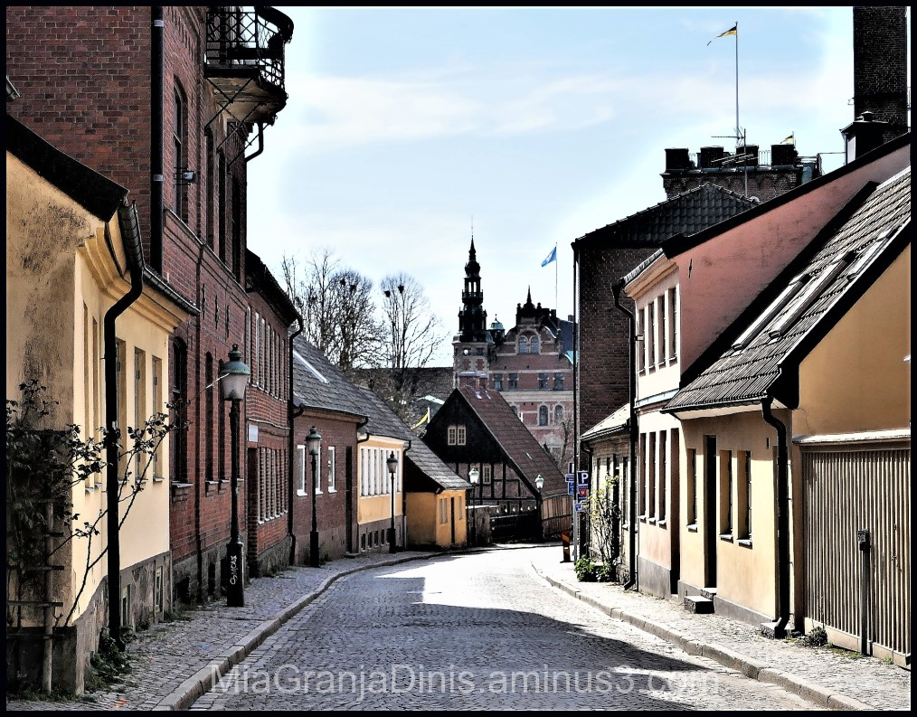 Lund City in Sweden
