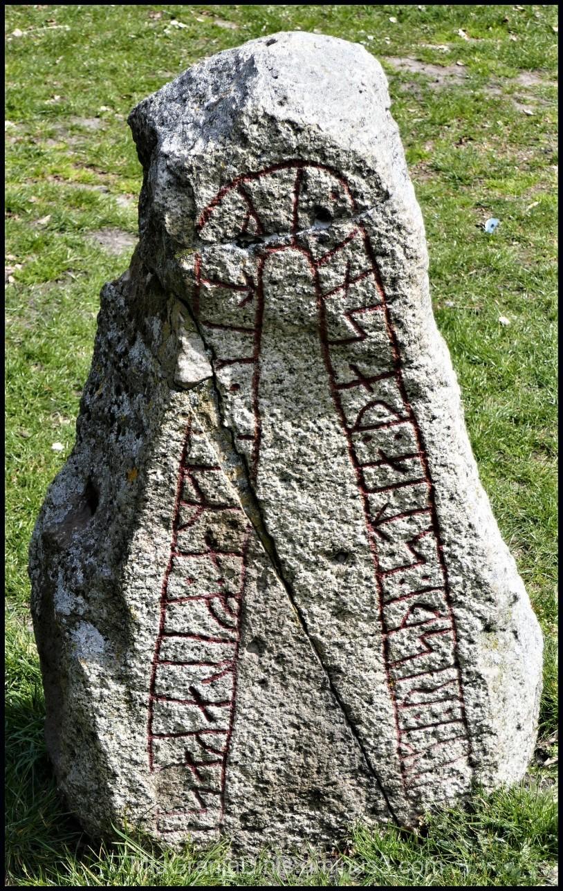 A Very Old Runestone in Lund - Sweden