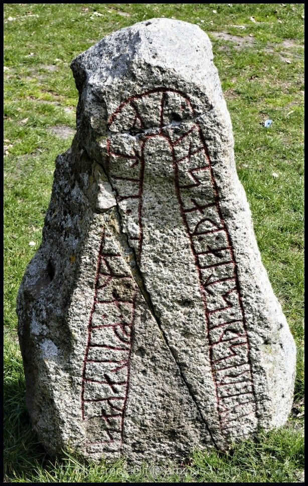 A Very Old Runestone in Lund - Sweden