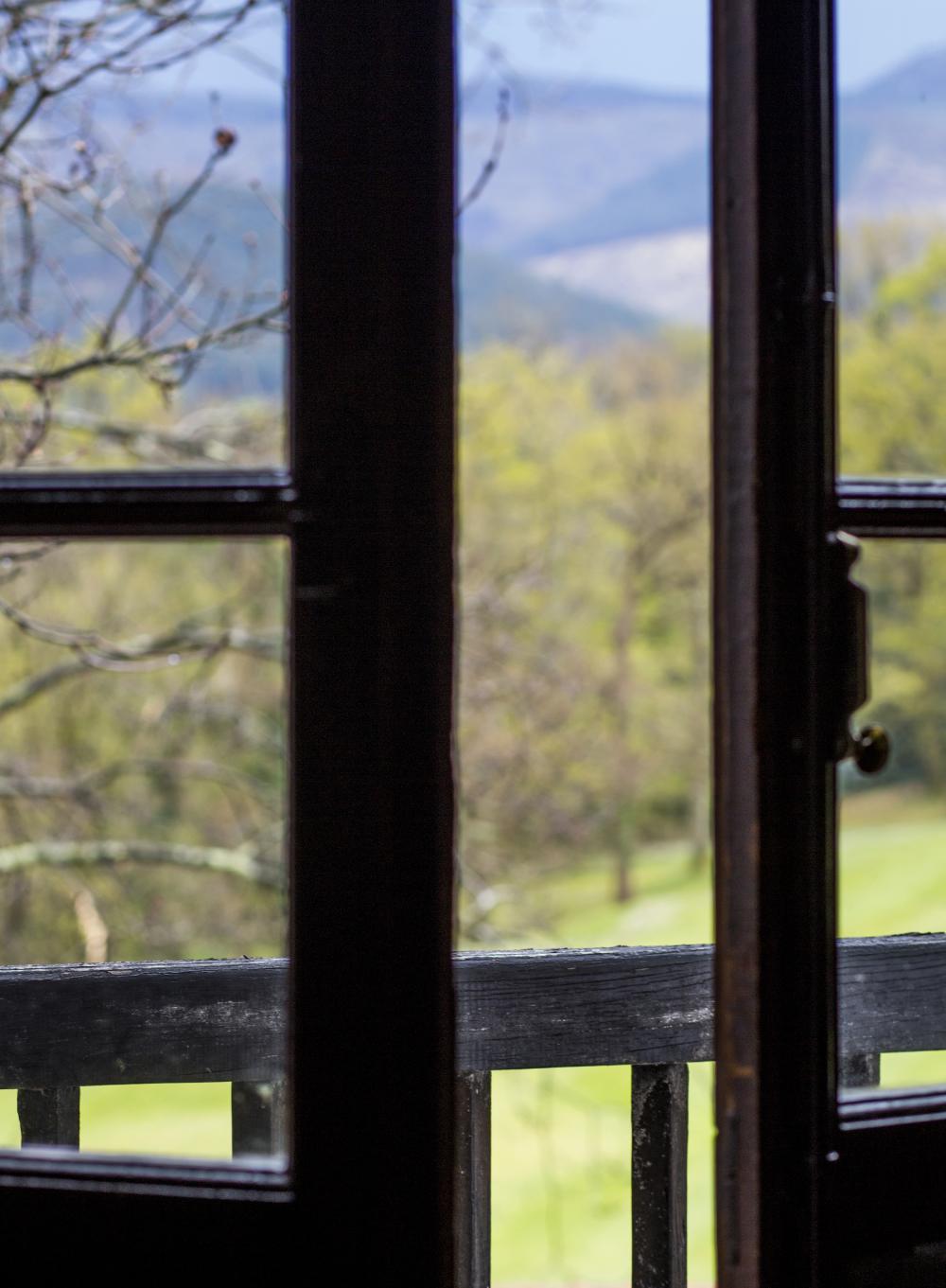 mirada desde el balcon