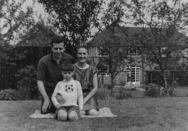 family posed 1963 leicester