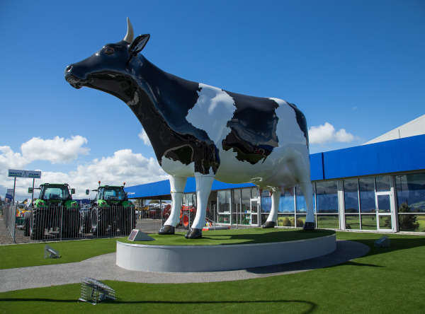 The Morrinsville Mega Cow