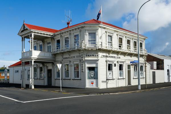 Workingmen's Club Thames NZ