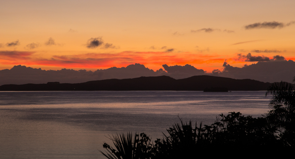 Another sunrise over Kawau Island