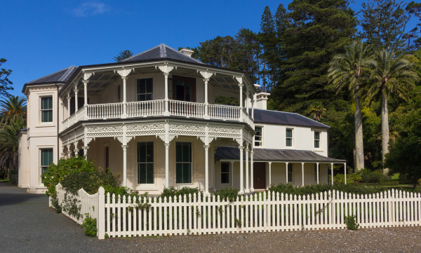 Governor Grey's Mansion House Kawau Island