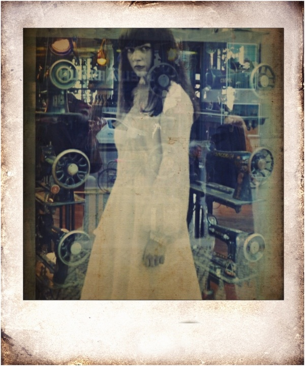 ghost girl in the streets - pola-framed