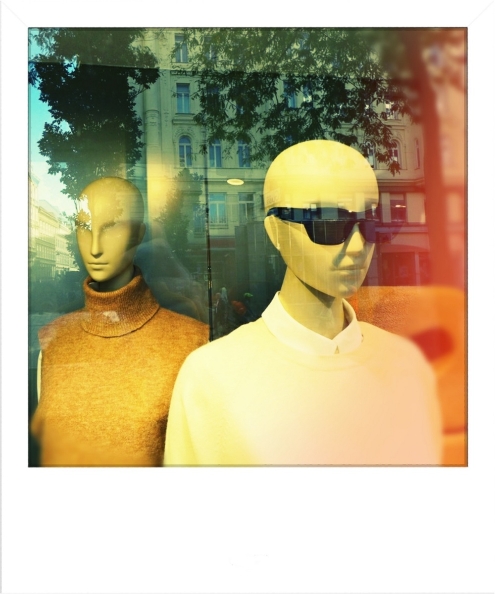 mannequin in fashion shop
