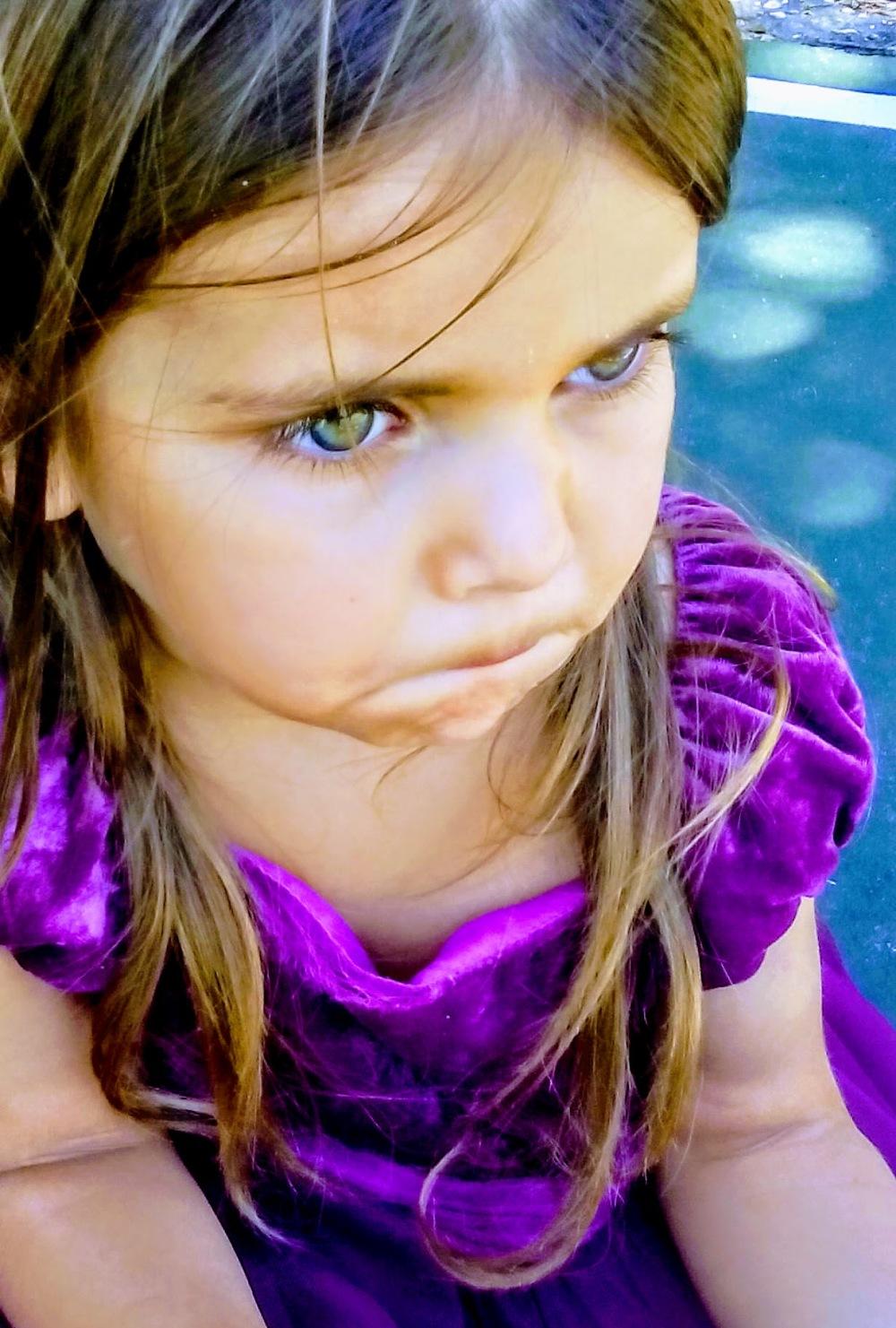 girl in purple dress amazing green eyes
