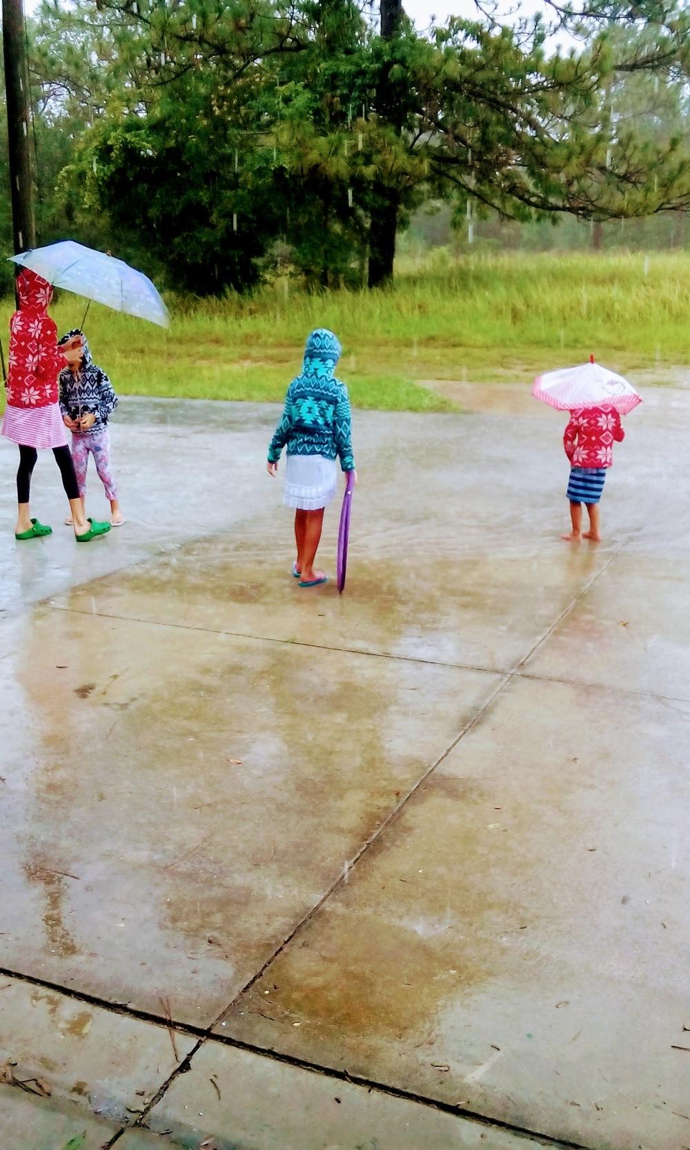 Rain Play V