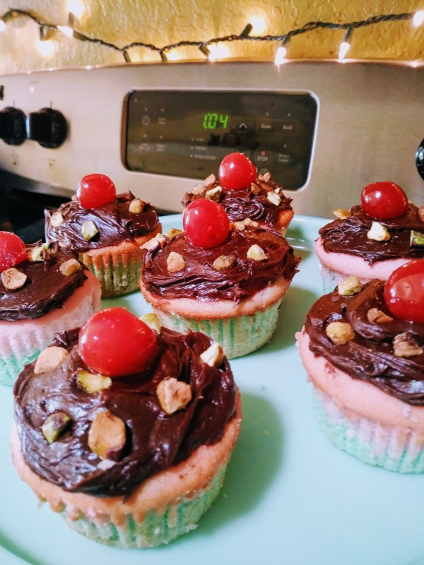 Spumoni Cupcakes III