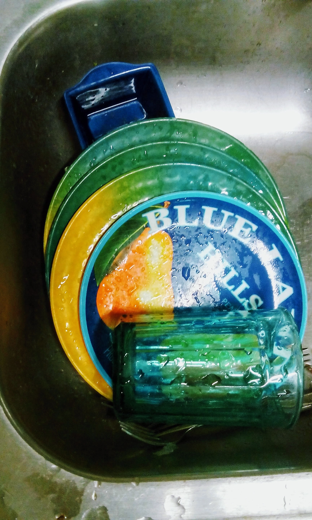 Blue-Green Dishes