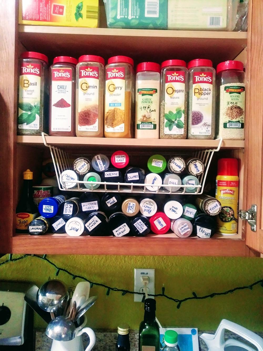 Organized Spice Organized Life