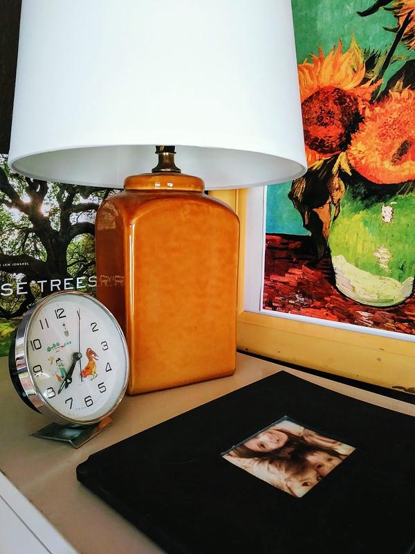 Brown Vintage Lamp