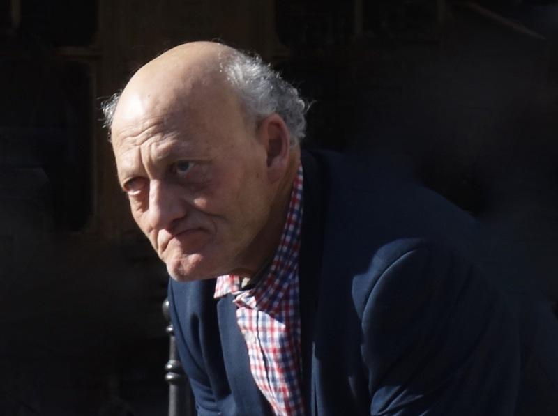Portrait of an Old Man in Paris, France. 2017