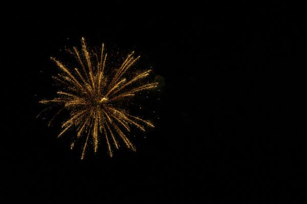 A Firework Exploding