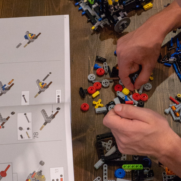 Just a 19 year old doing legos