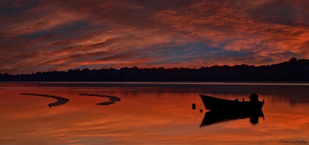 Sunrise At Wellfleet, Cape Cod. Massachusetts.