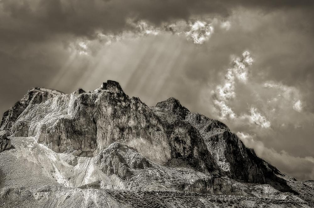 Quarry. Albox District, Spain.
