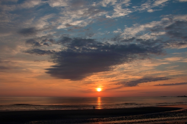 Sunrise. Nantasket Beach Massachusetts.