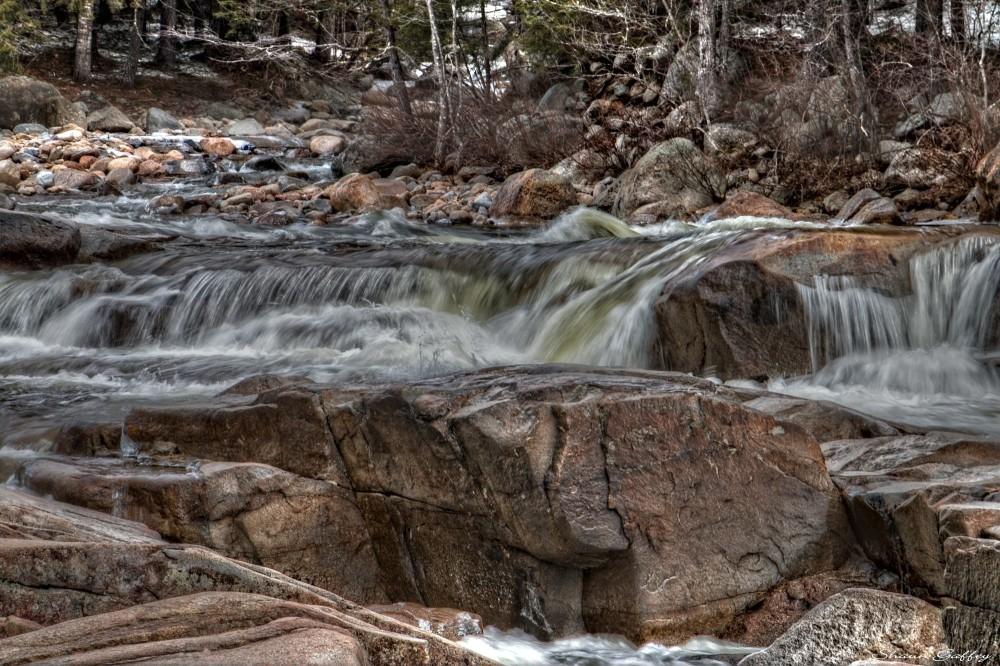 Pemigewasset River. New Hampshire.
