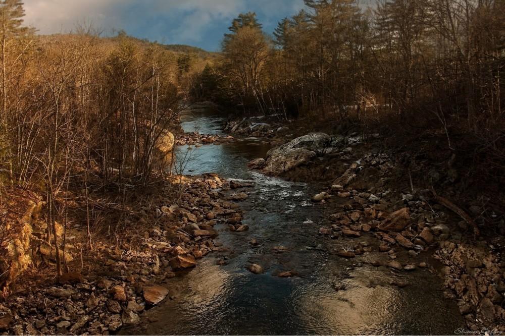 Pemigewasset River. Campton. New Hampshire.