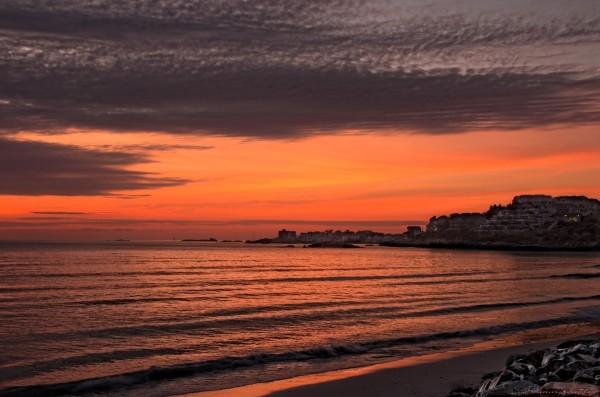 Sunrise. Hull, Massachusetts .